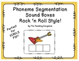 Phoneme Segmentation Sound Boxes {Elkonin Boxes - great for DIBELS!}
