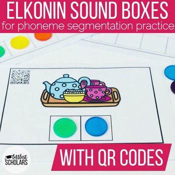 Phoneme Segmentation Sound Boxes with QR Codes