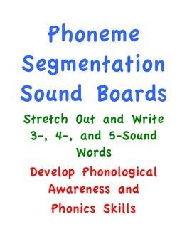Phoneme Segmentation Sound Boards/Elkonin Boxes