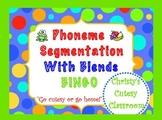 Phoneme Segmentation With Blends Bingo