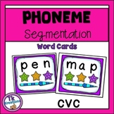 Phoneme Segmentation Word Cards