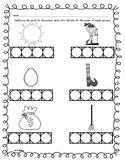 Phoneme Segmentation Worksheet 2
