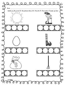 Kindergarten Worksheet Phonemic Awareness Lessons For Kindergarten ...