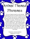 Phoneme Segmenting - Animals