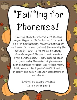 Phoneme Segmenting - Fall