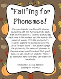 Phoneme Segmenting - Fall