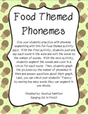 Phoneme Segmenting - Food