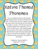 Phoneme Segmenting - Nature