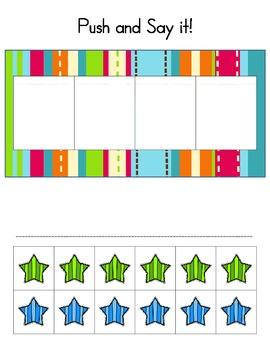 Phoneme Segmenting - Pack 1