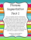Phoneme Segmenting - Pack 1