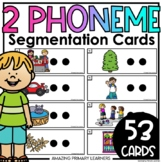Phoneme Segmenting Practice Cards   Activities for Phoneme