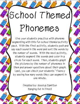 Phoneme Segmenting - School