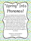 Phoneme Segmenting - Spring
