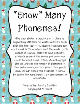Phoneme Segmenting - Winter