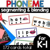 Phoneme Segmenting and Blending Cards Bundle