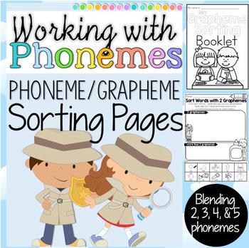 Phoneme and Grapheme Sorting Printables