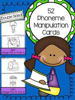 Phoneme/Sound Manipulation Task Cards