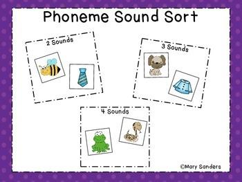 Phoneme Sound Sort
