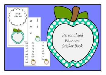 Phoneme Sticker Book
