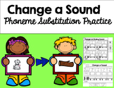 Phoneme Substitution Practice Sheets