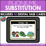 Phoneme Substitution | Boom Cards™ | Distance Learning