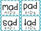 Phoneme Substitution Cards (-ad Word Family)
