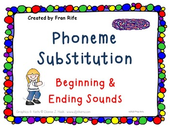 Phoneme Substitution: Change the Beginning & Ending Sounds