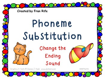 Phoneme Substitution: Change the Ending Sound
