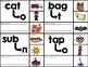 Phoneme Substitution Clip Cards