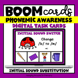 Phoneme Substitution Digital Activities | Phonemic Awarene