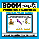 Phoneme Substitution Digital Activities with Spelling | Ph
