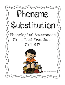 Phoneme Substitution - Phonological Awareness Skills Test Practice - P.A.S.T #17