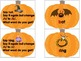 A Phoneme Substitution Pumpkin Activity Word Work Daily 5 Center Activity