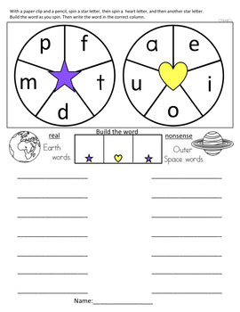 Phoneme Substitution: Real and Nonsense Words to support Dibels and Reading