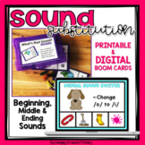 Phoneme Substitution | Sound Substitution Activity PDF DIG
