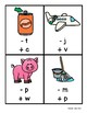 Phoneme Substitution Worksheets and Game