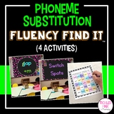 Phoneme Substitution with CVC Words Fluency Find It