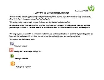 Phoneme Teaching - Sprouts of AZ Volume 1, saying the sound