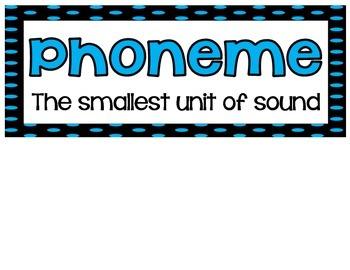 Phoneme Word Wall
