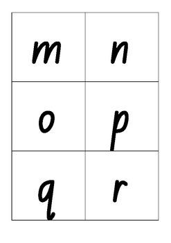 Phoneme and Alphabet Flashcards