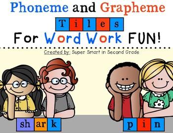 Phoneme and Grapheme Tiles