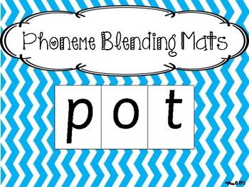Phoneme Blending Mats- Sassoon Font