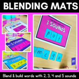 Phoneme Blending Mats- Foundation Font