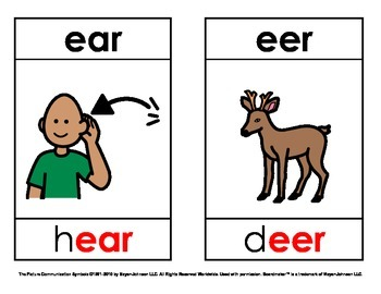 Phoneme/Grapheme Phonics Picture Cards - Vowels (Set 2)