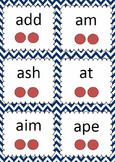 Phonemes Flash Cards - 2, 3 & 4 phoneme words