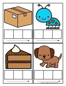 Elkonin Boxes and Phoneme Cards