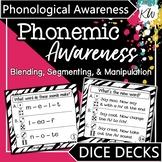 Phonemic Awareness Game (Phoneme Blending, Segmenting, and