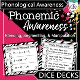 Phonemic Awareness Game (Phoneme Blending, Segmenting, and