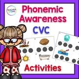 Phonemic Awareness Sound Boxes: CVC