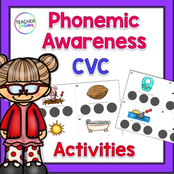 Phonemic Awareness Sound Boxes: CVC
